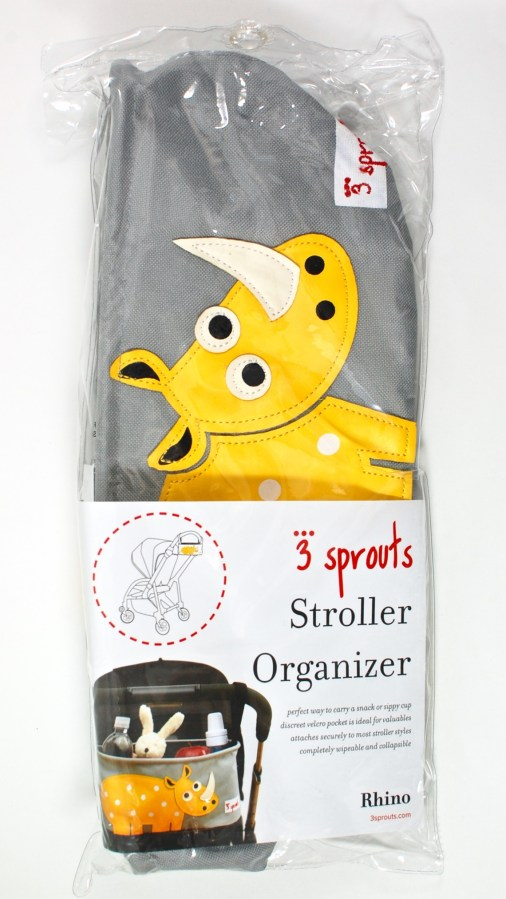 3 sprouts stroller organizer