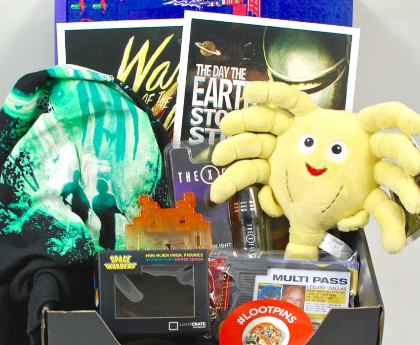 January 2016 Loot Crate review