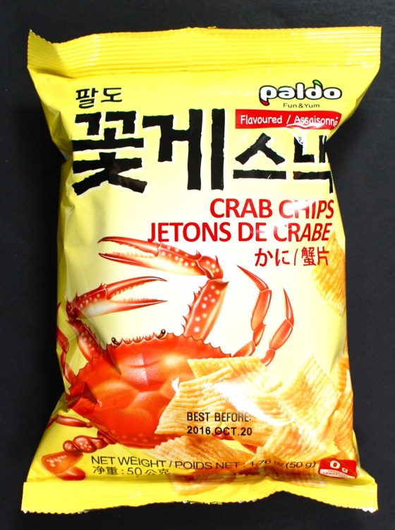 crab chips