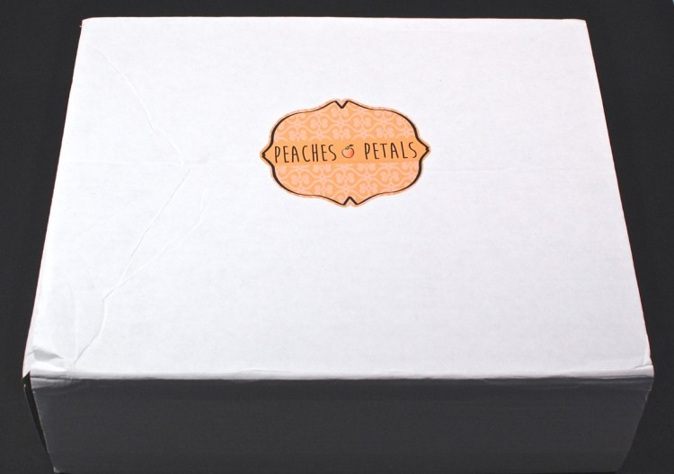 Peaches and Petals box