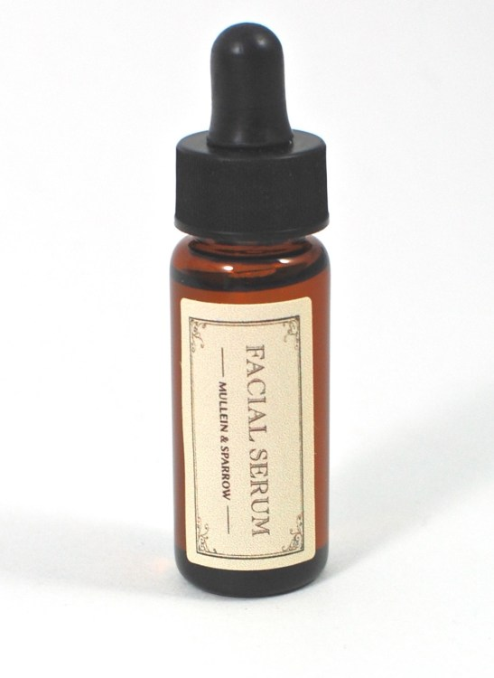 Mullein & Sparrow facial serum