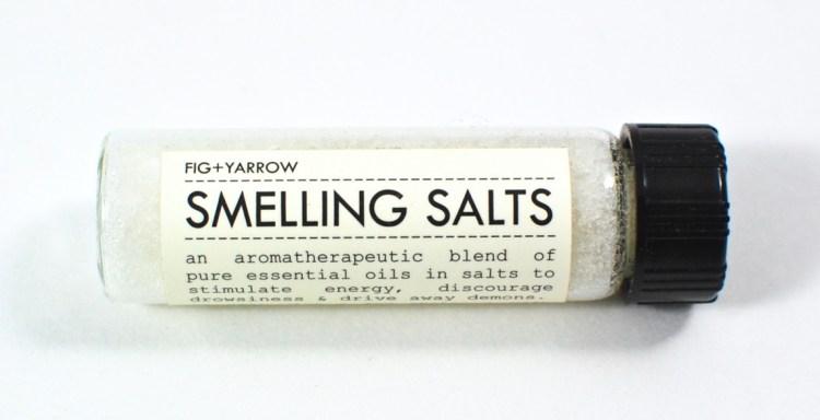 fig + yarrow smelling salts