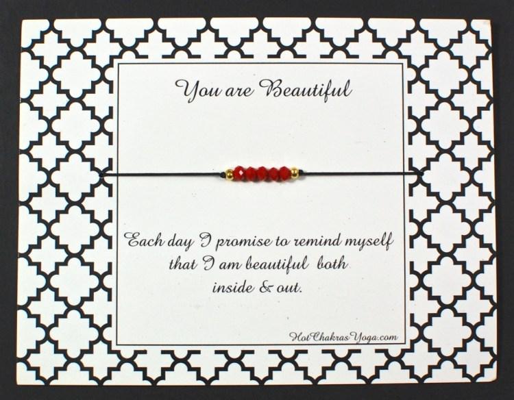 hot chakras bracelet