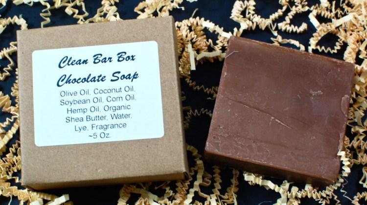 chocolate bar soap