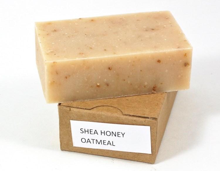 shea honey oatmeal soap