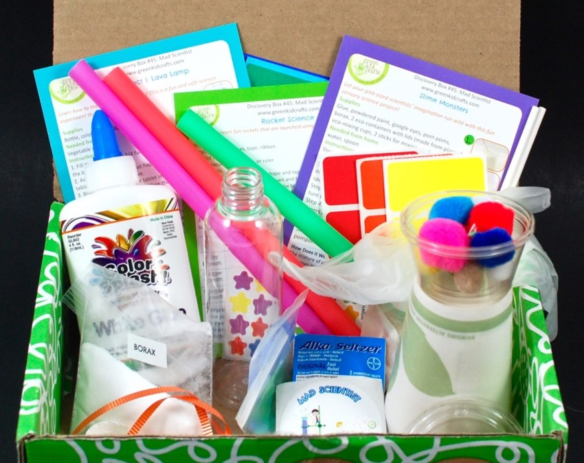 January 2016 Green Kid Crafts review