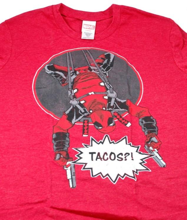 Loot Crate Deadpool shirt