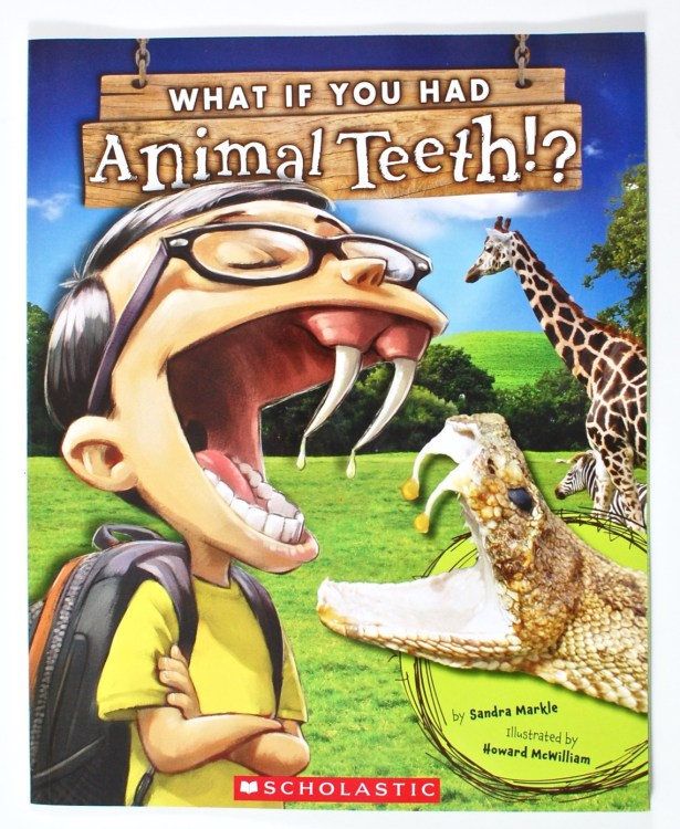 What if you had animal teeth book
