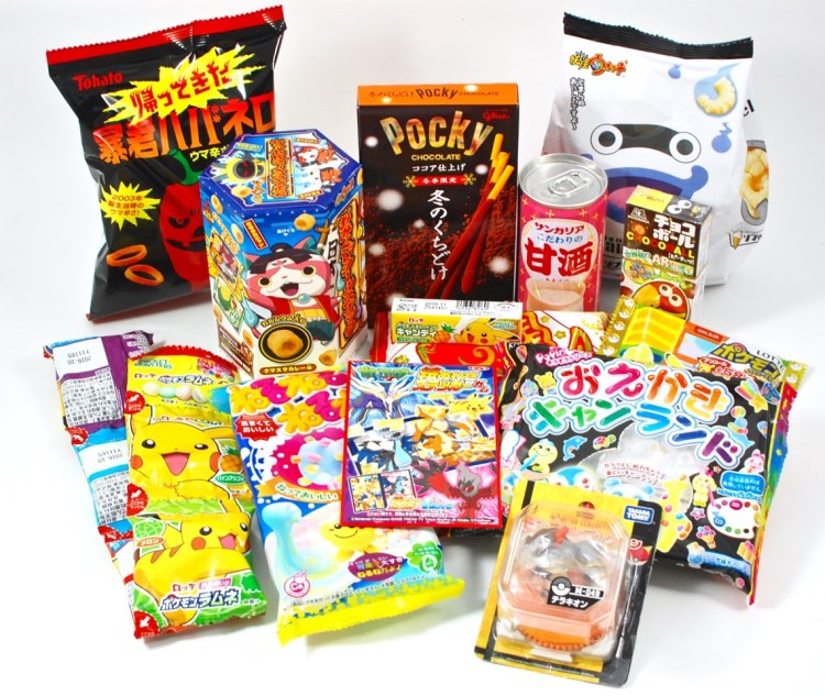 TokyoTreat January 2016 Japanese Candy Box Review