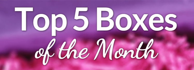 Top 5 Subscription Boxes
