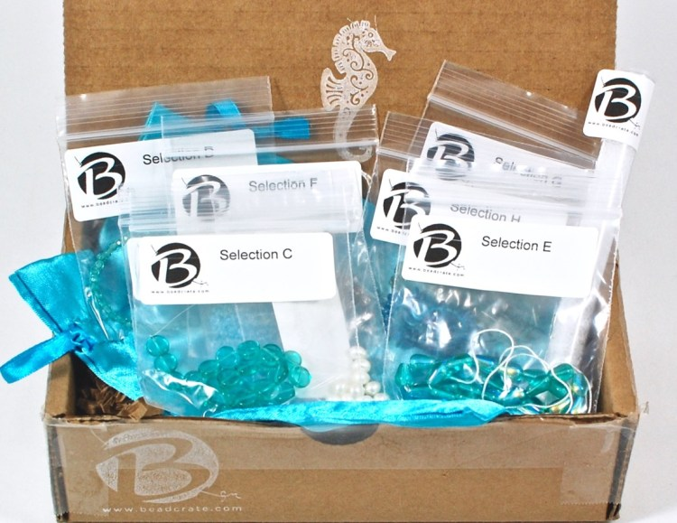 BeadCrate March 2016 Bead Subscription Box Review