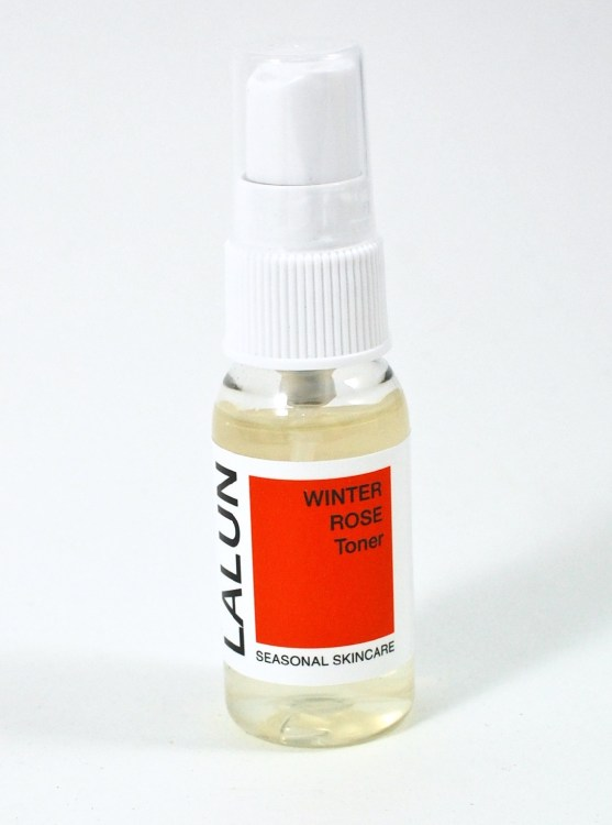 Lalun winter rose toner