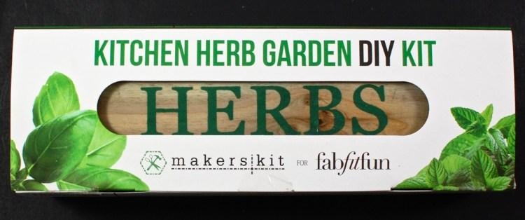 FabFitFun herb garden
