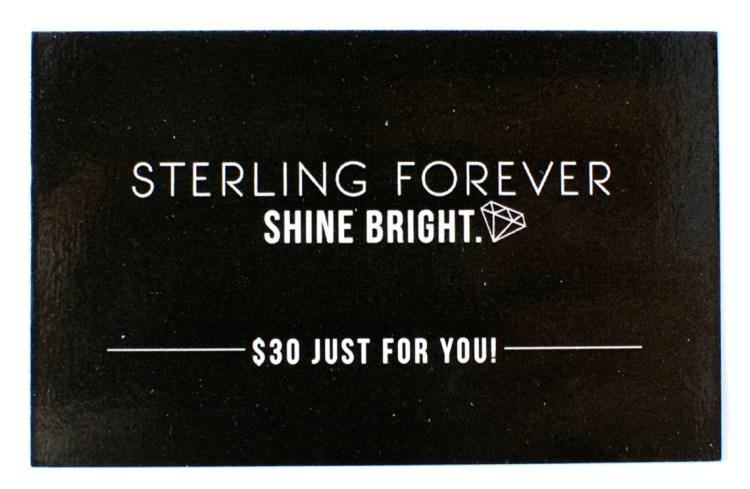 Sterling Forever gift card
