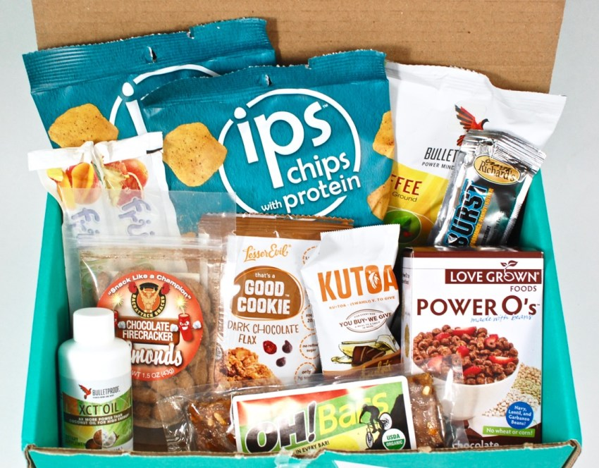 March 2016 Fit Snack review