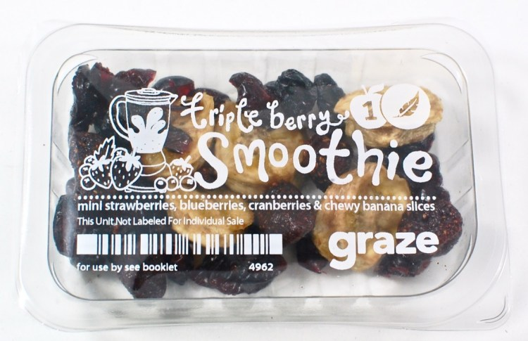 graze triple berry smoothie
