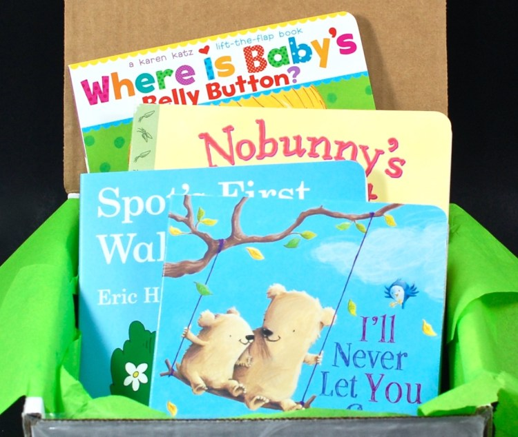 Lil' Bear Book Club March 2016 Subscription Box Review & Coupon