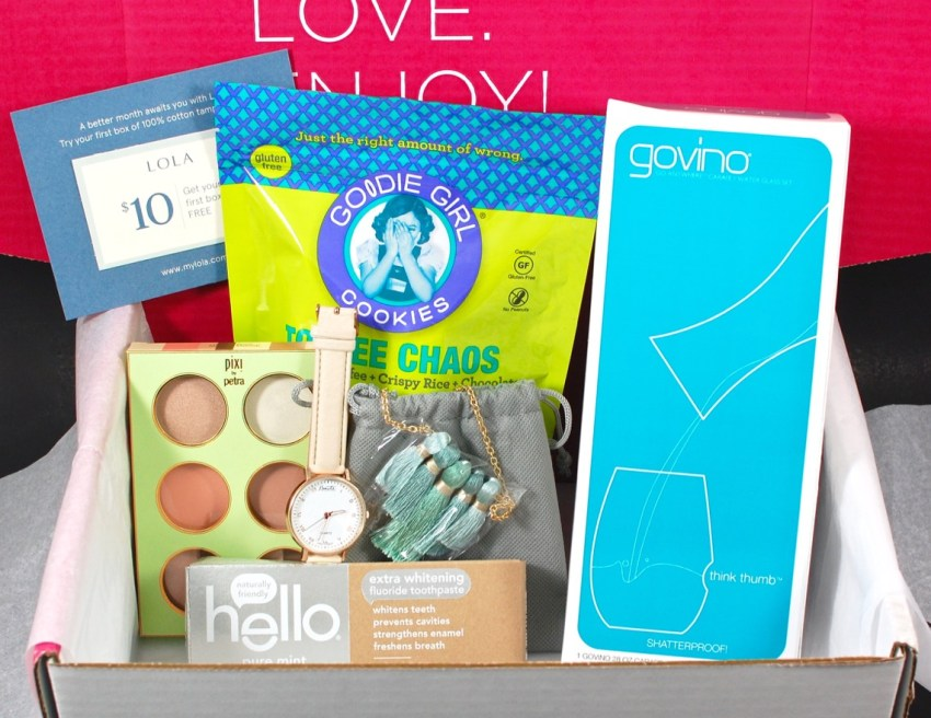 March 2016 POPSUGAR Must Have review