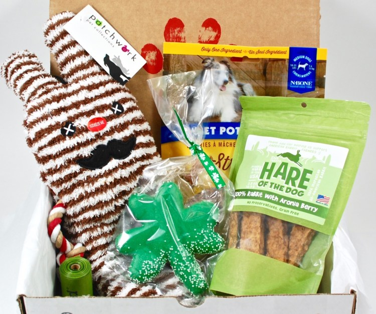 PupCrate March 2016 Subscription Box Review & Coupon Code