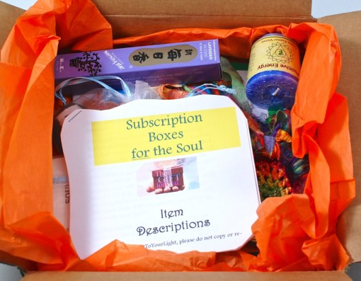 Subscription Box for the Soul
