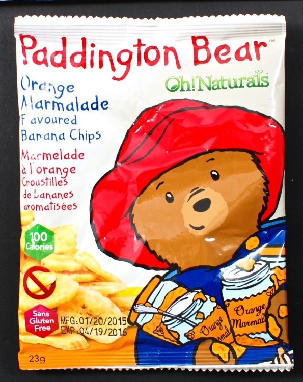 Paddington Bear banana snack