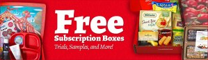 FREE and Cheap Subscription Boxes to Score for February 2017