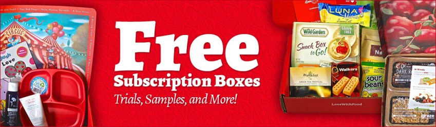 Free and Really Cheap Subscription Boxes