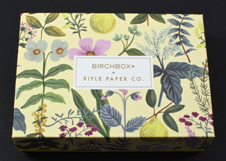 Birchbox rifle paper co. box