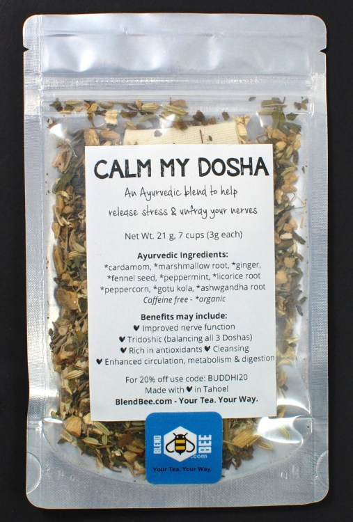 Calm my dosha tea