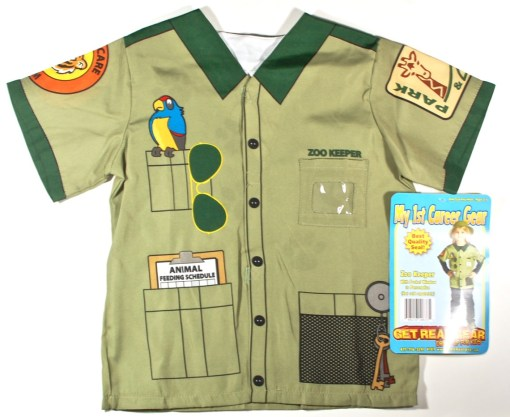 Zoo Keeper dress up