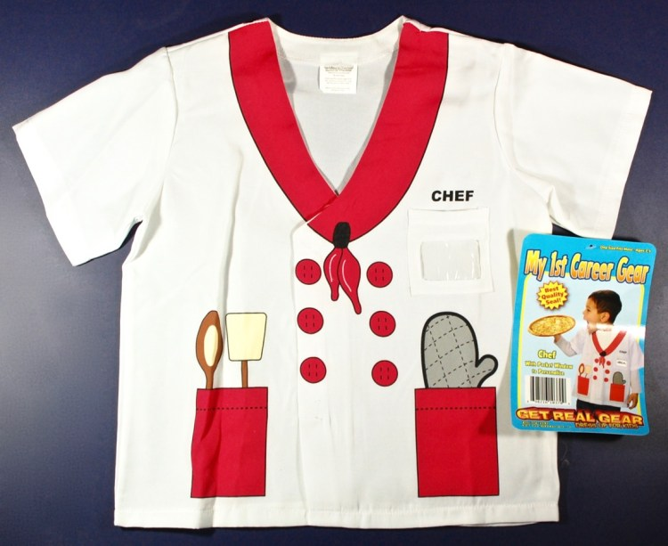 Aeromax chef shirt