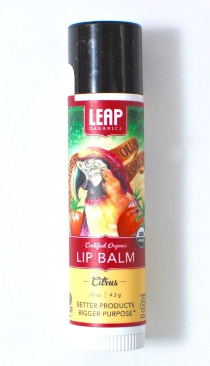 leap organics lip balm