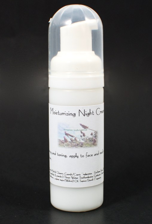 exterior indulgence night cream