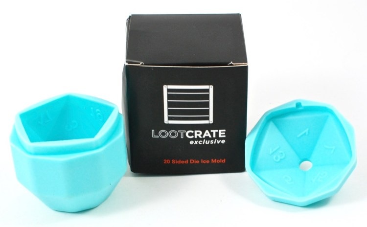 Loot Crate ice mold