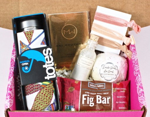 April 2016 Pampered Mommy Box review