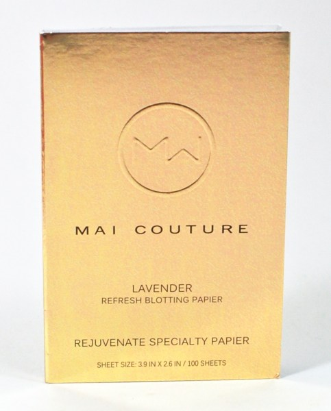Mai Couture blotting paper
