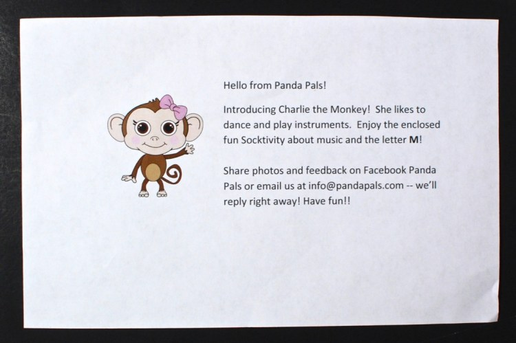 Panda Pals monkey