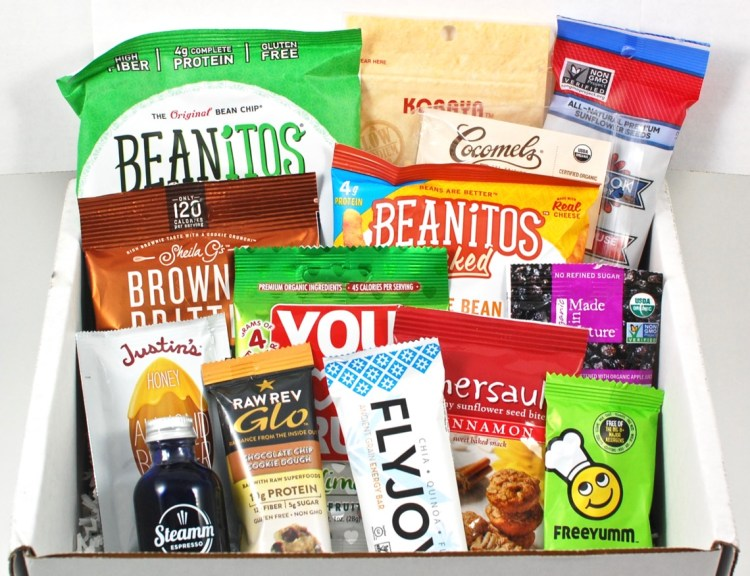 April 2016 SnackSack review