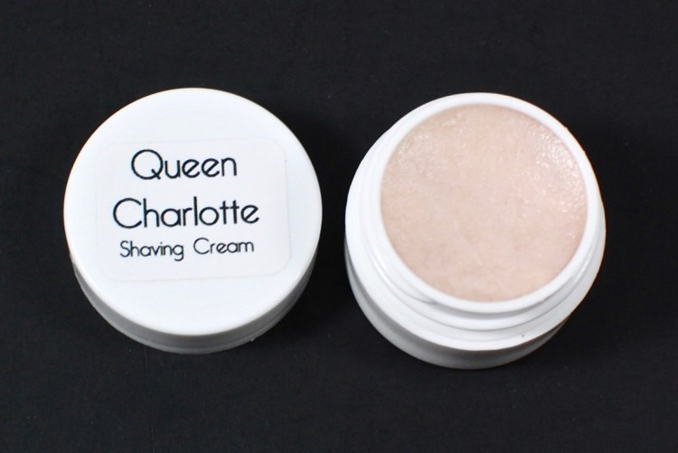 Queen Charlotte shaving cream