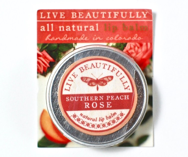 Live Beautifully lip balm