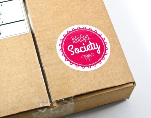 ToGoSpa Society box review