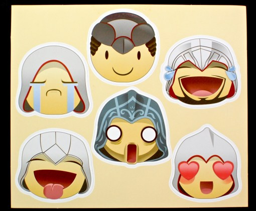 assassin emoji stickers