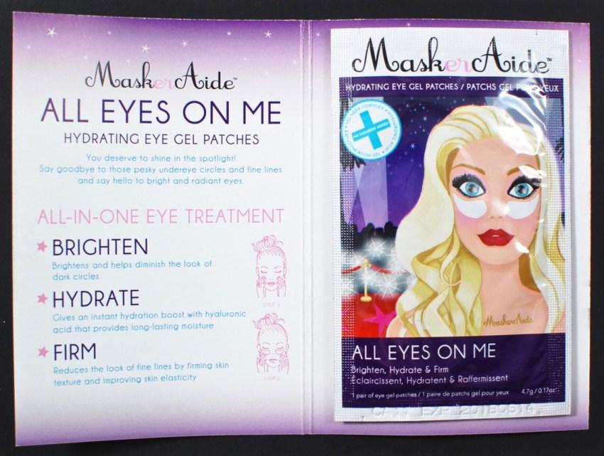 Maskeraide eye gels