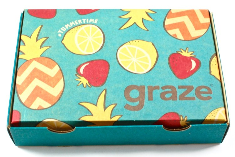 Graze May 2016 Subscription Box Review & First Box FREE