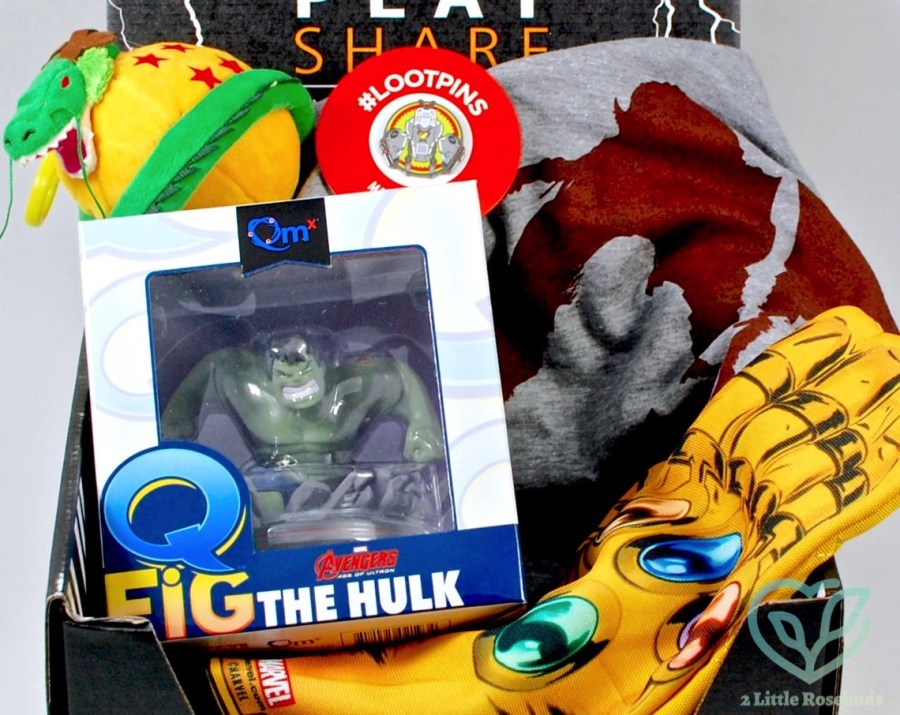 May 2016 Loot Crate review