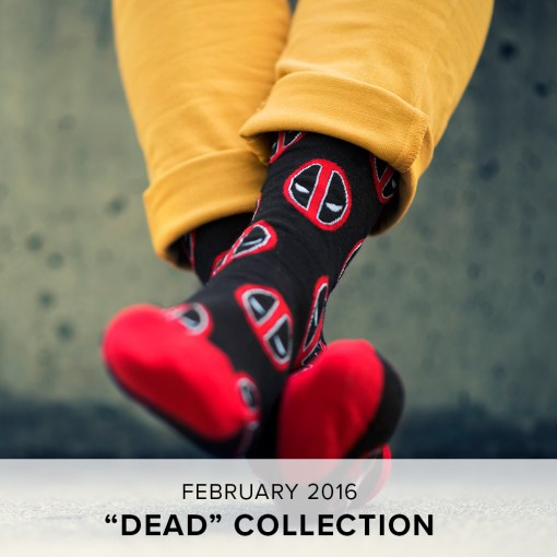 "Loot Socks ""Dead"" Collection"