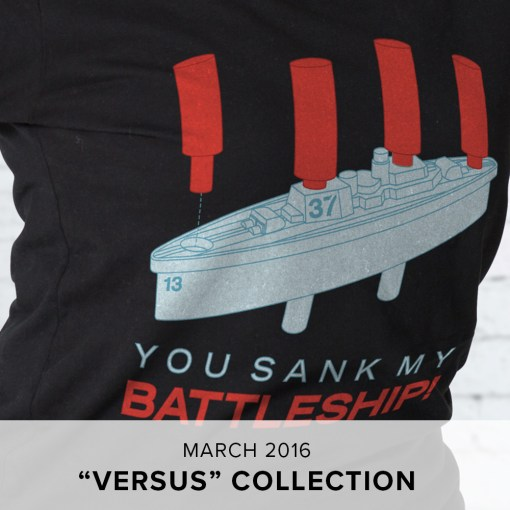 "Level Up Loot Tees ""Versus"" Collection"
