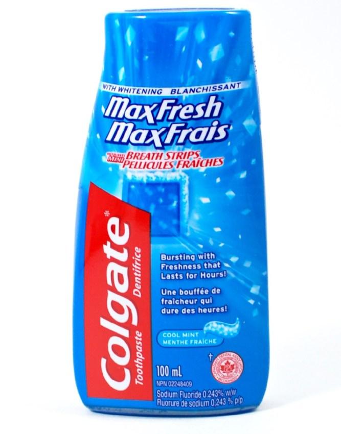 Colgate MaxFresh toothpaste