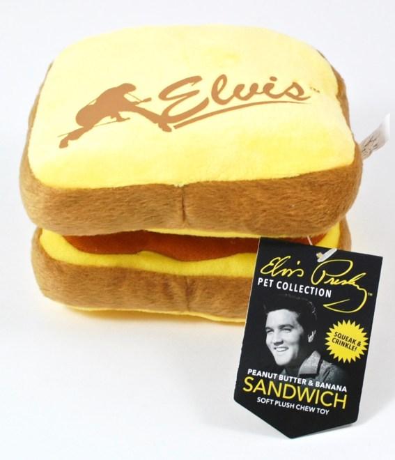 Elvis dog toy