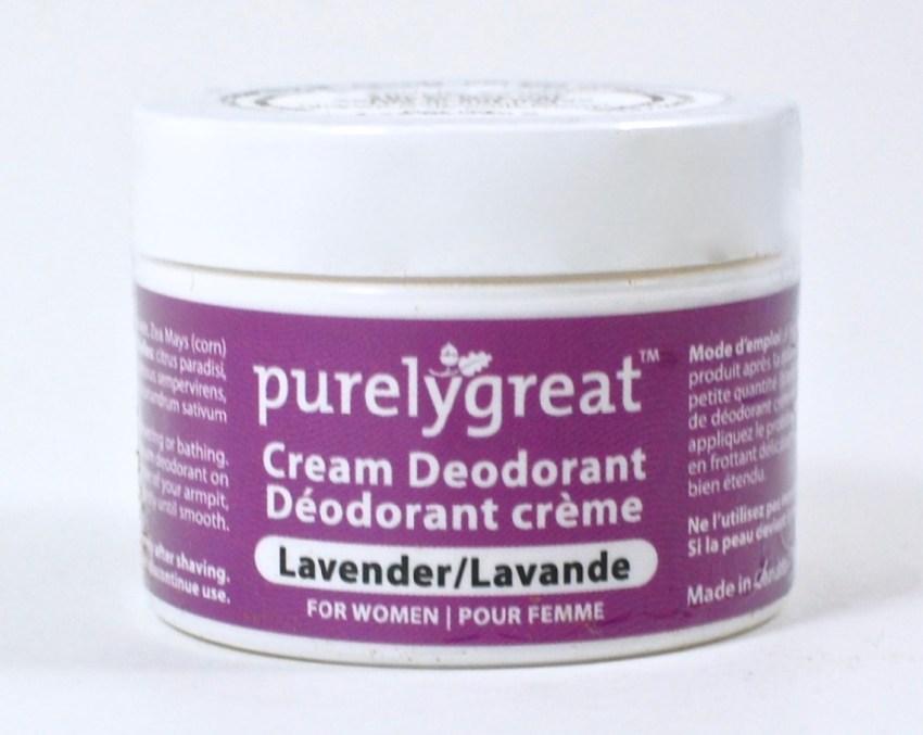 Purelygreat deodorant